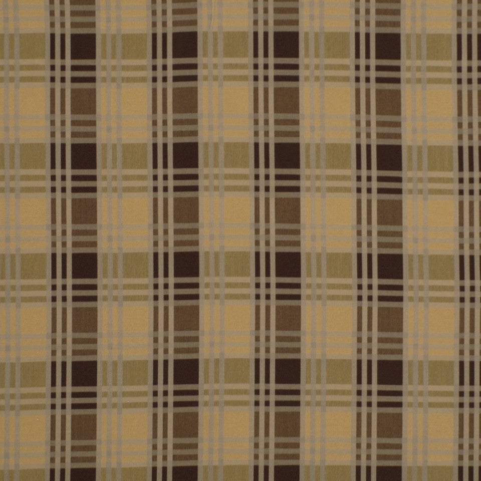 WARM Checker Street Fabric - Chestnut
