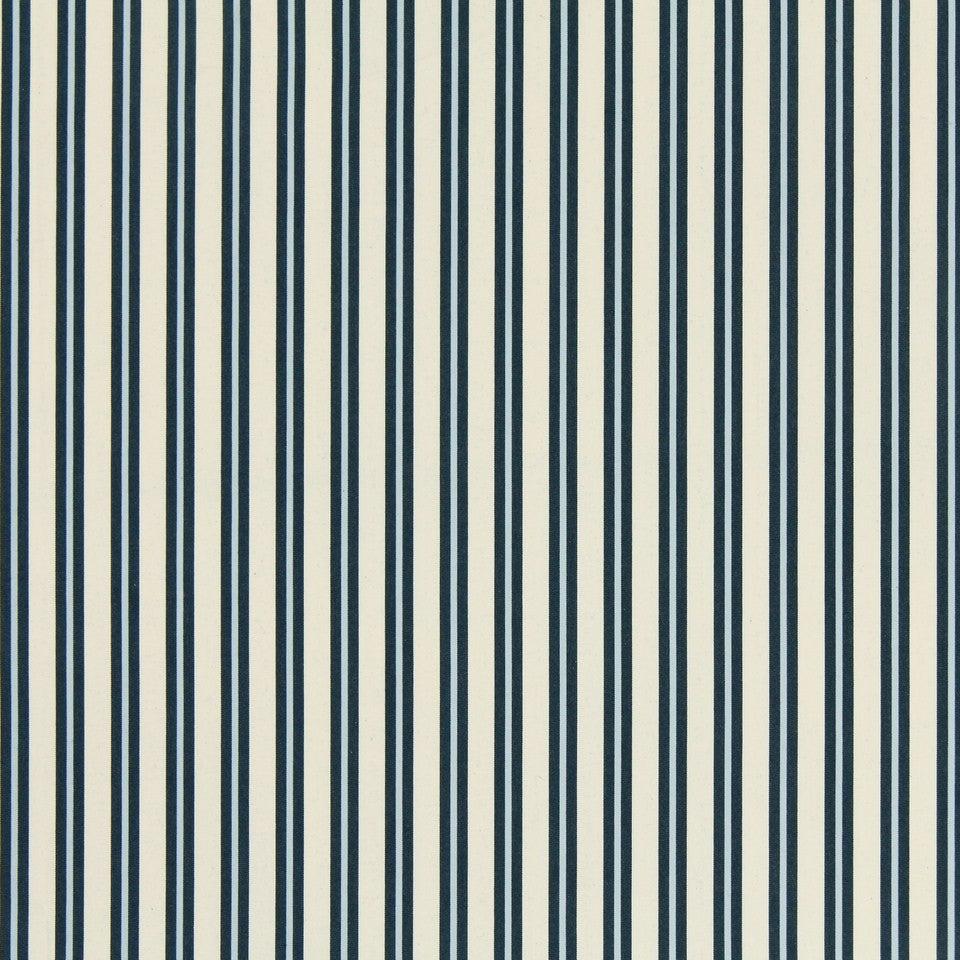 COOL Boat Stripe Fabric - Wedgewood