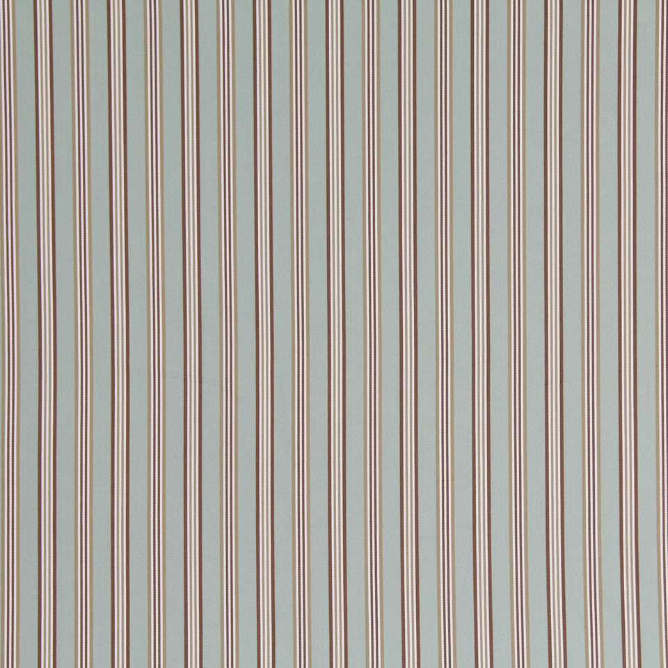 COOL Rope Stripe Fabric - Tide