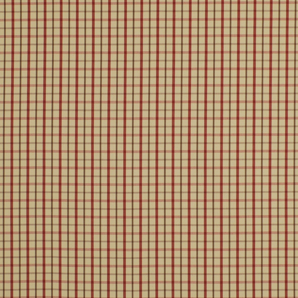 WARM Party Plaid Fabric - Crimson