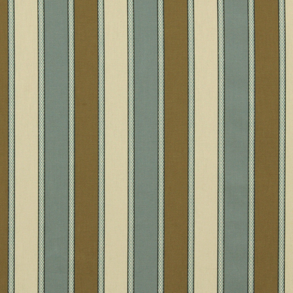 MARINER-COASTAL-NAVY Country Stripe Fabric - Colonial
