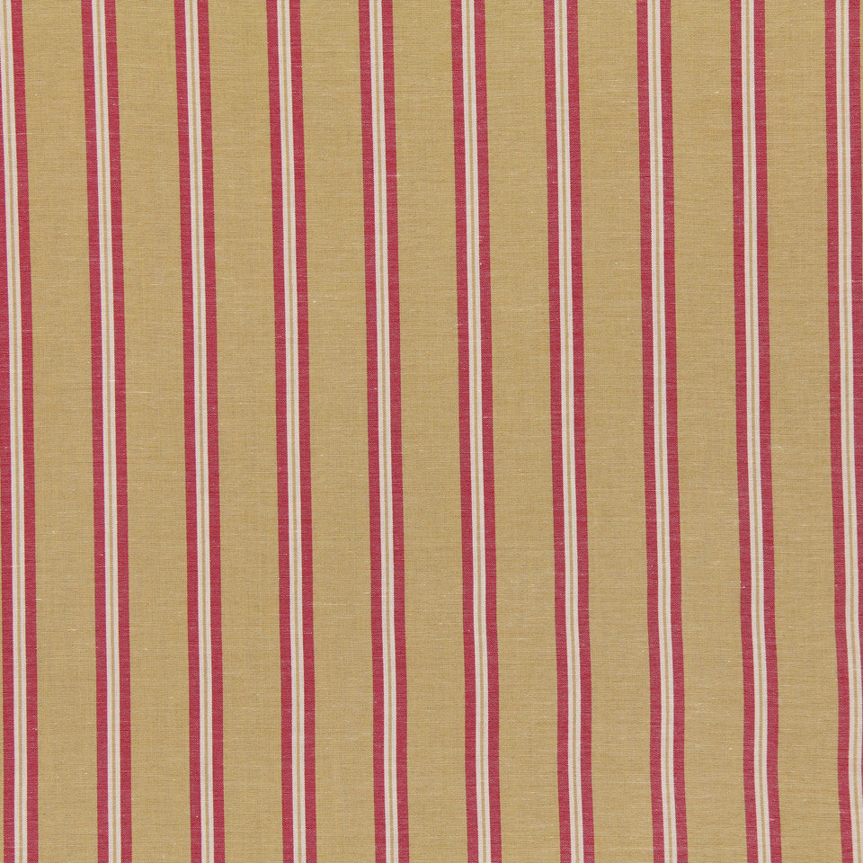 WARM Spunky Stripe Fabric - Melon