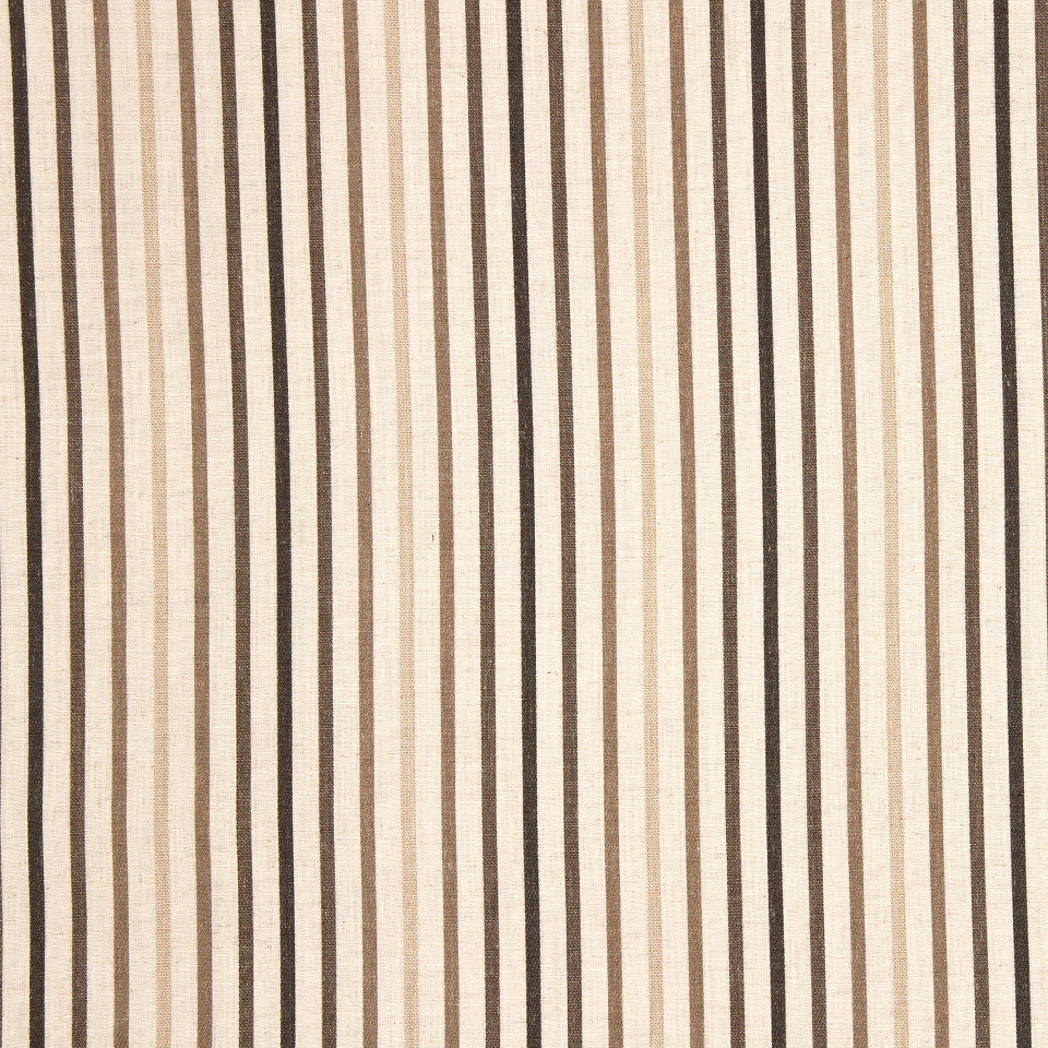 PUMICE-WHITEWASH-FLAX Foggy Stripe Fabric - Ombre