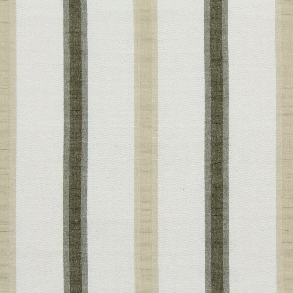 WARM Pucker Stripe Fabric - Nougat
