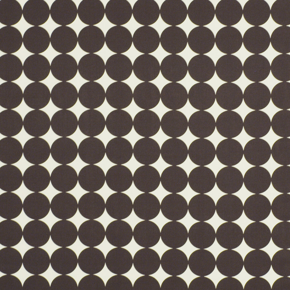 DWELLSTUDIO ECLECTIC MODERN Dotscape Fabric - Major Brown