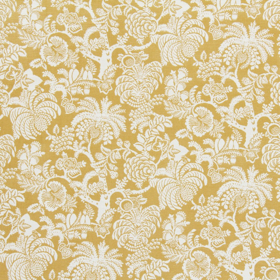 HONEYSUCKLE Gilardia Fabric - Honeysuckle