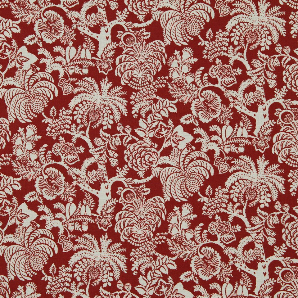 POPPY Gilardia Fabric - Poppy