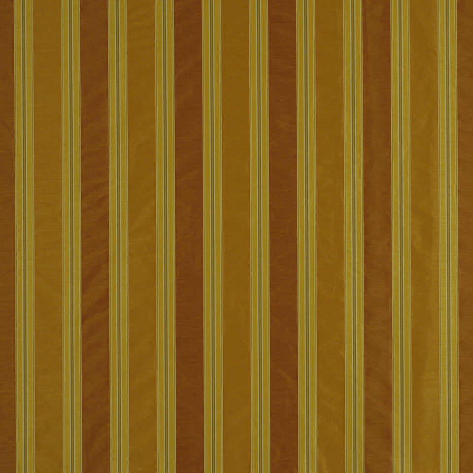 SILKY INSPIRATIONS Georgia Stripe Fabric - Mango