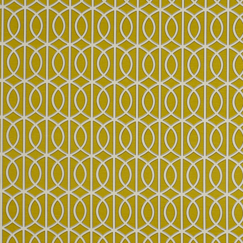 DWELLSTUDIO ECLECTIC MODERN Gate Fabric - Citrine