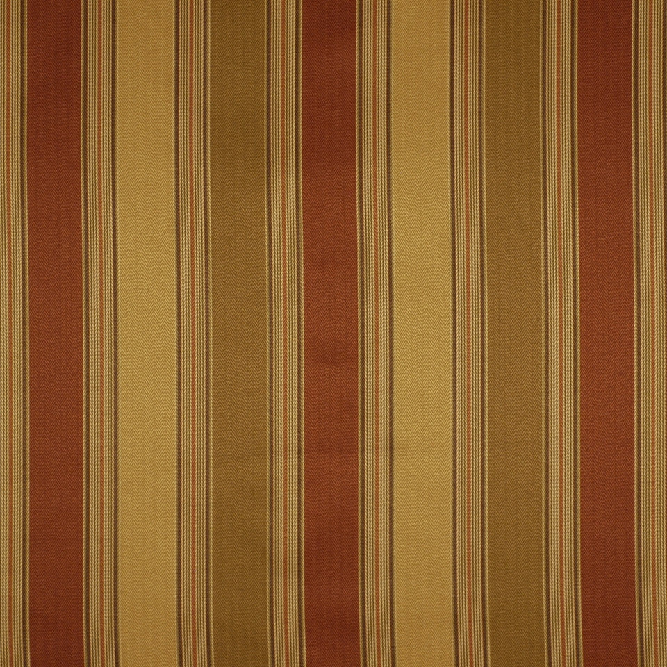 FLORENTINE SATINS III Parted Ways Fabric - Russet