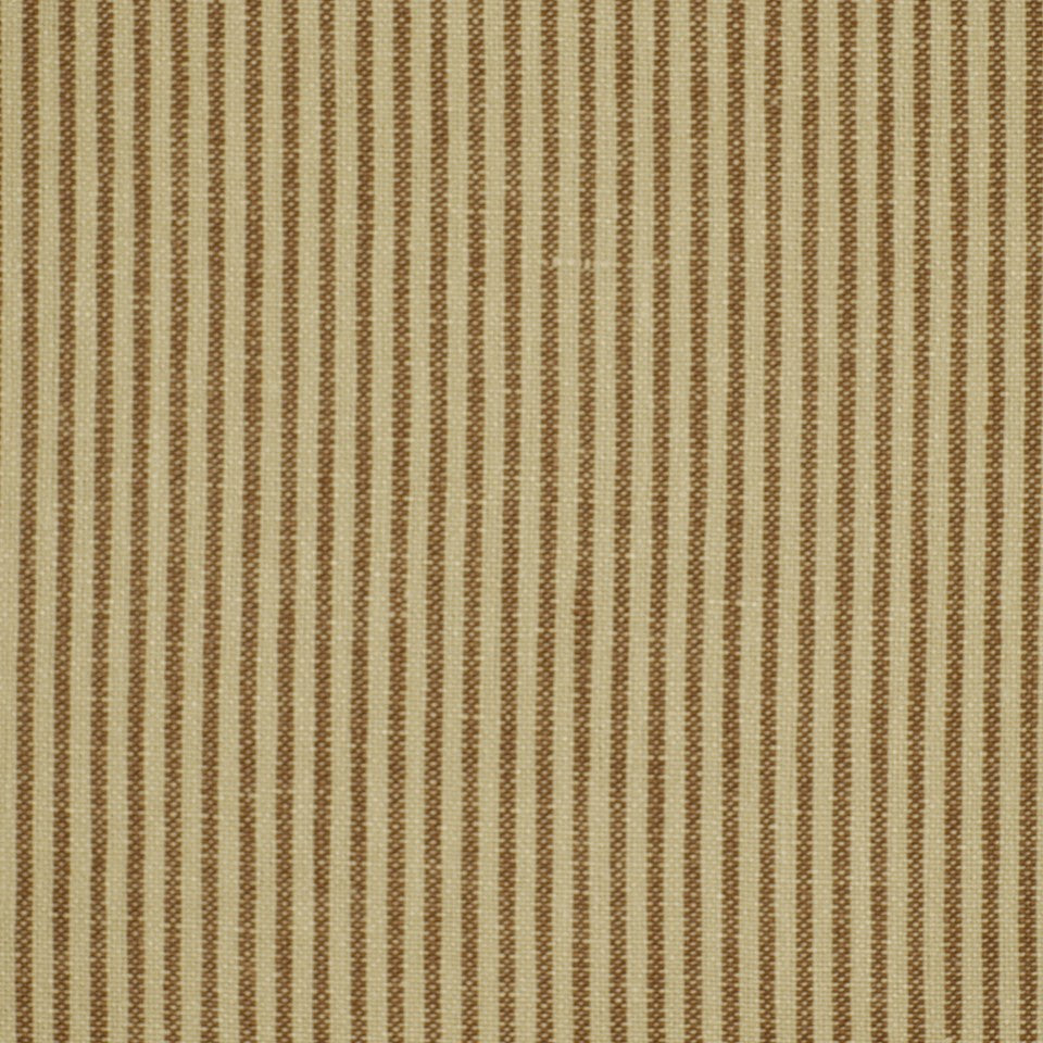 LINEN COORDINATES Empire Stripe Fabric - Taupe