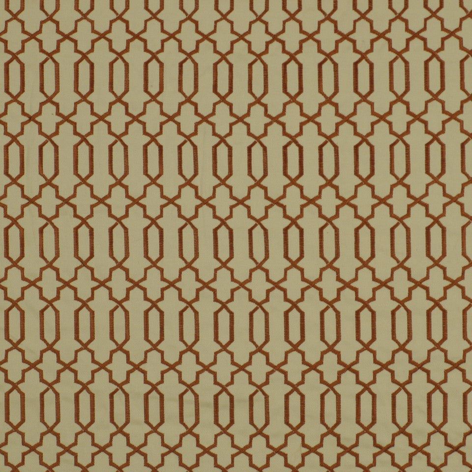 POPPY Kyle James Fabric - Poppy