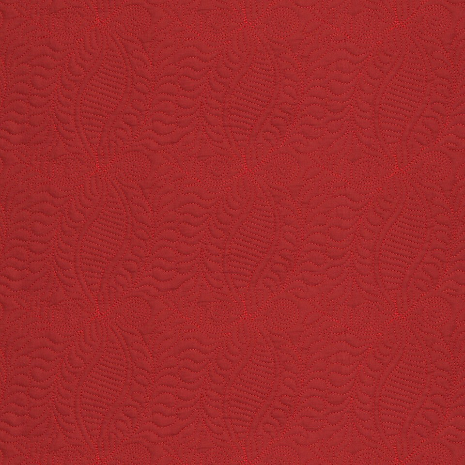LAVA-RED HOT-GARNET Arborescent Fabric - Flame