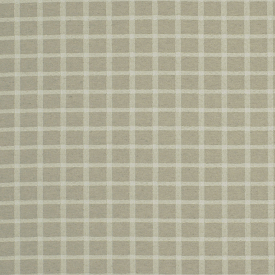 TWINE Tweed Check Fabric - Twine