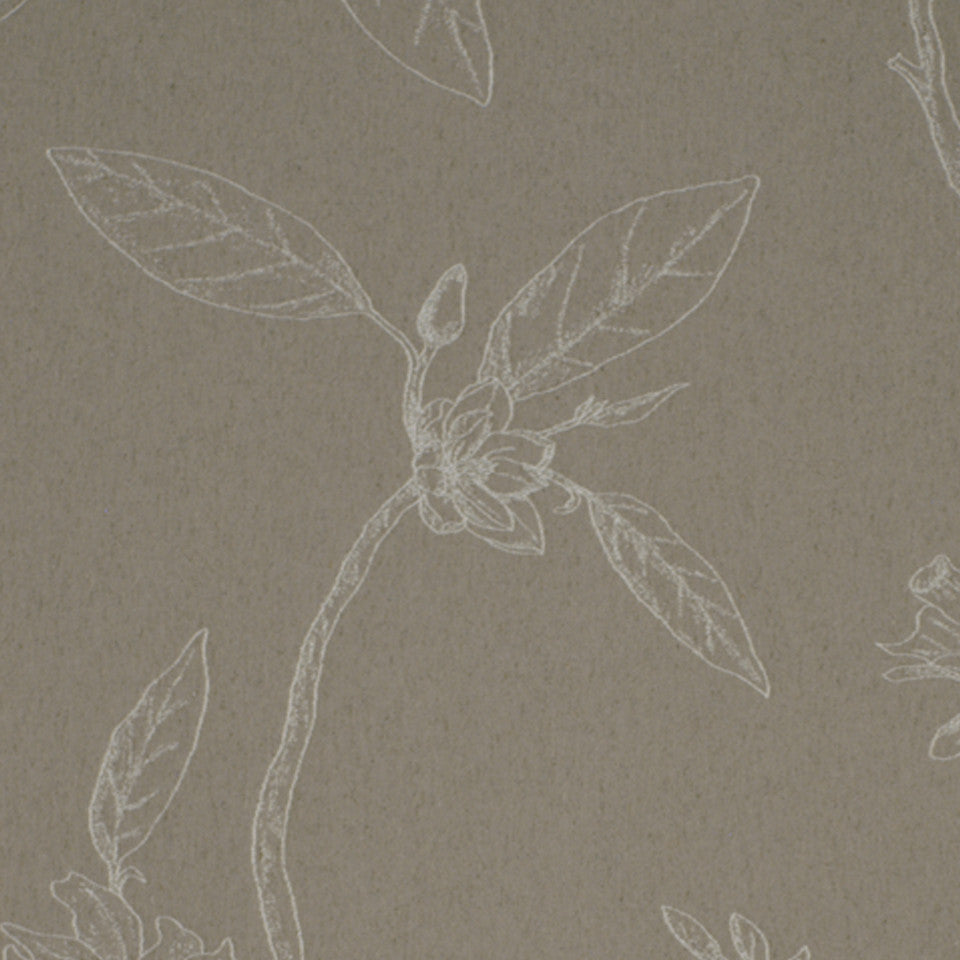 TWINE Floral Becca Fabric - Twine