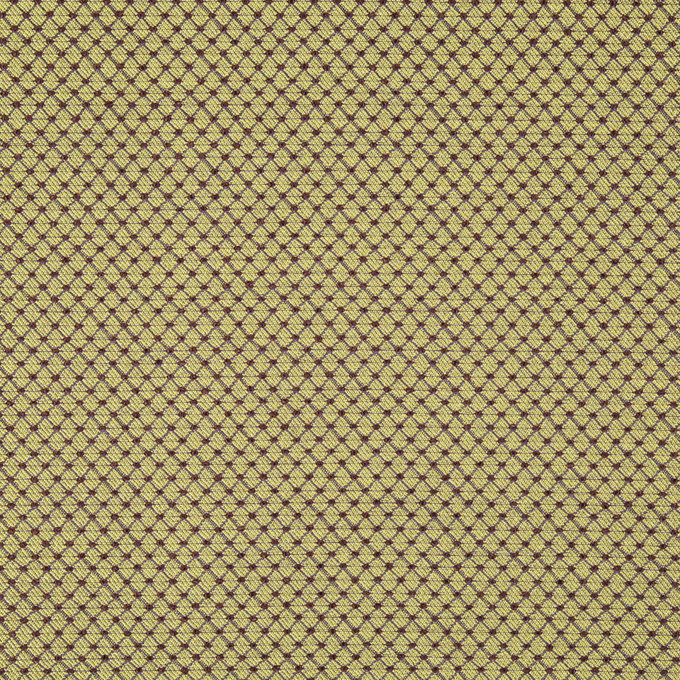 French Knot Bk Fabric - Mulberry