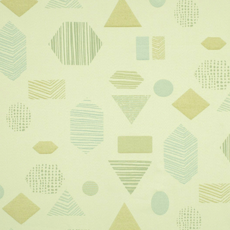 DWELLSTUDIO HEALTHCARE Texture Shape Fabric - Seaglass