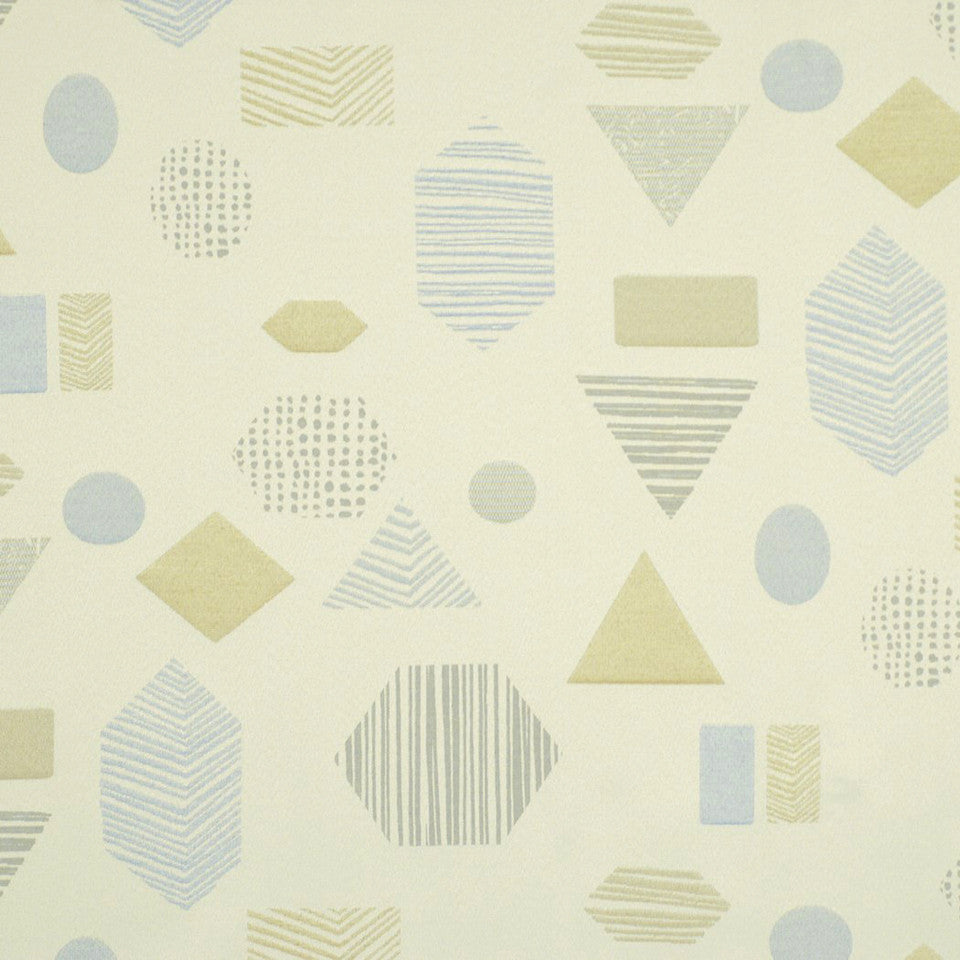 DWELLSTUDIO HEALTHCARE Texture Shape Fabric - Vapor