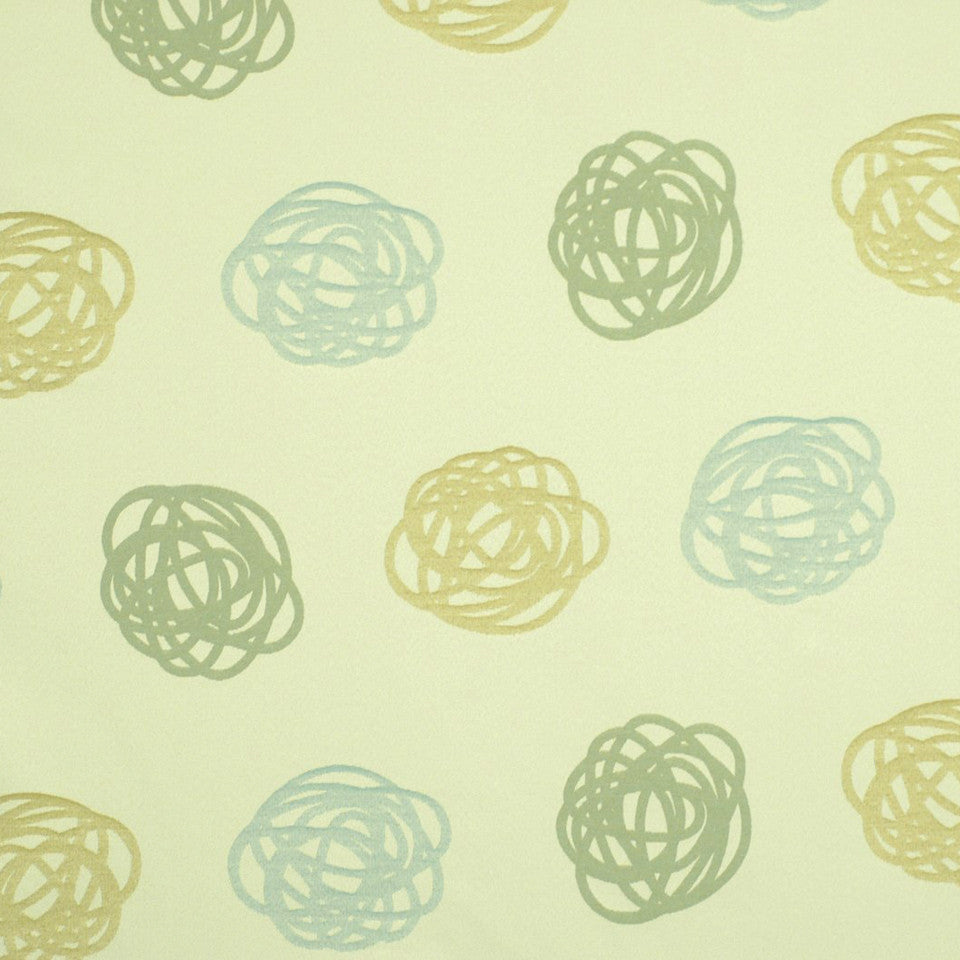 DWELLSTUDIO HEALTHCARE Winding Up Fabric - Seaglass
