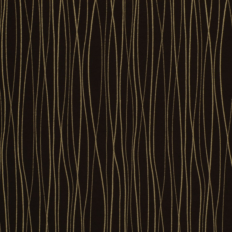 Fortune Sticks Fabric - Carbon