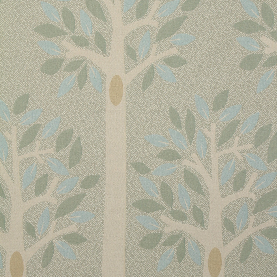 DWELLSTUDIO HEALTHCARE Tree Of Life Fabric - Seaglass