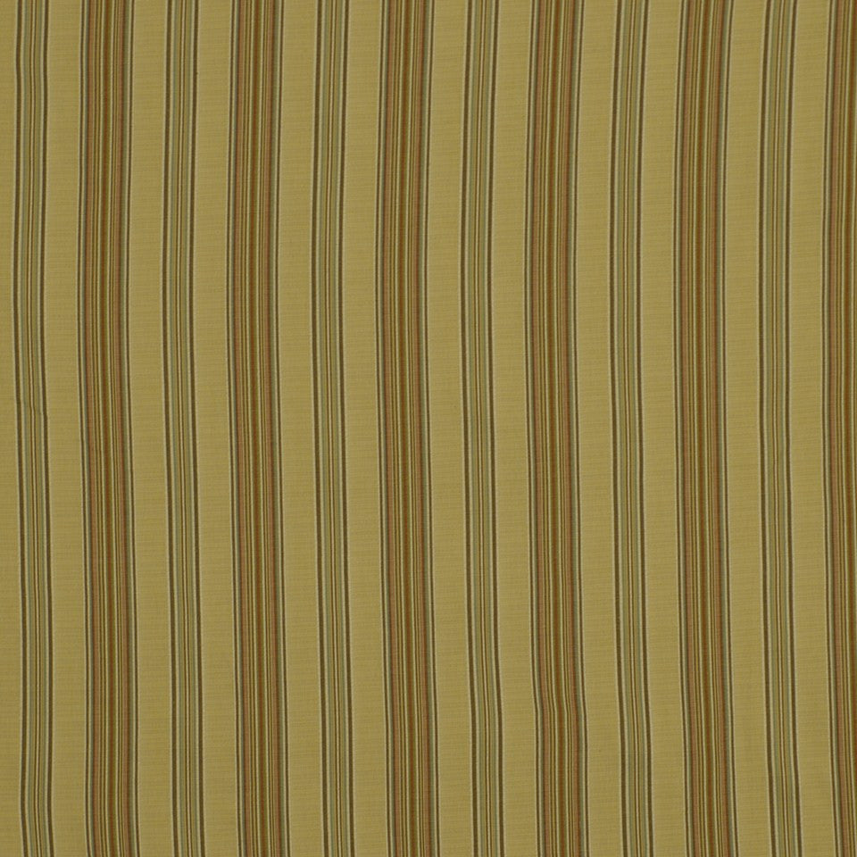 POPPY Abril Stripe Fabric - Poppy