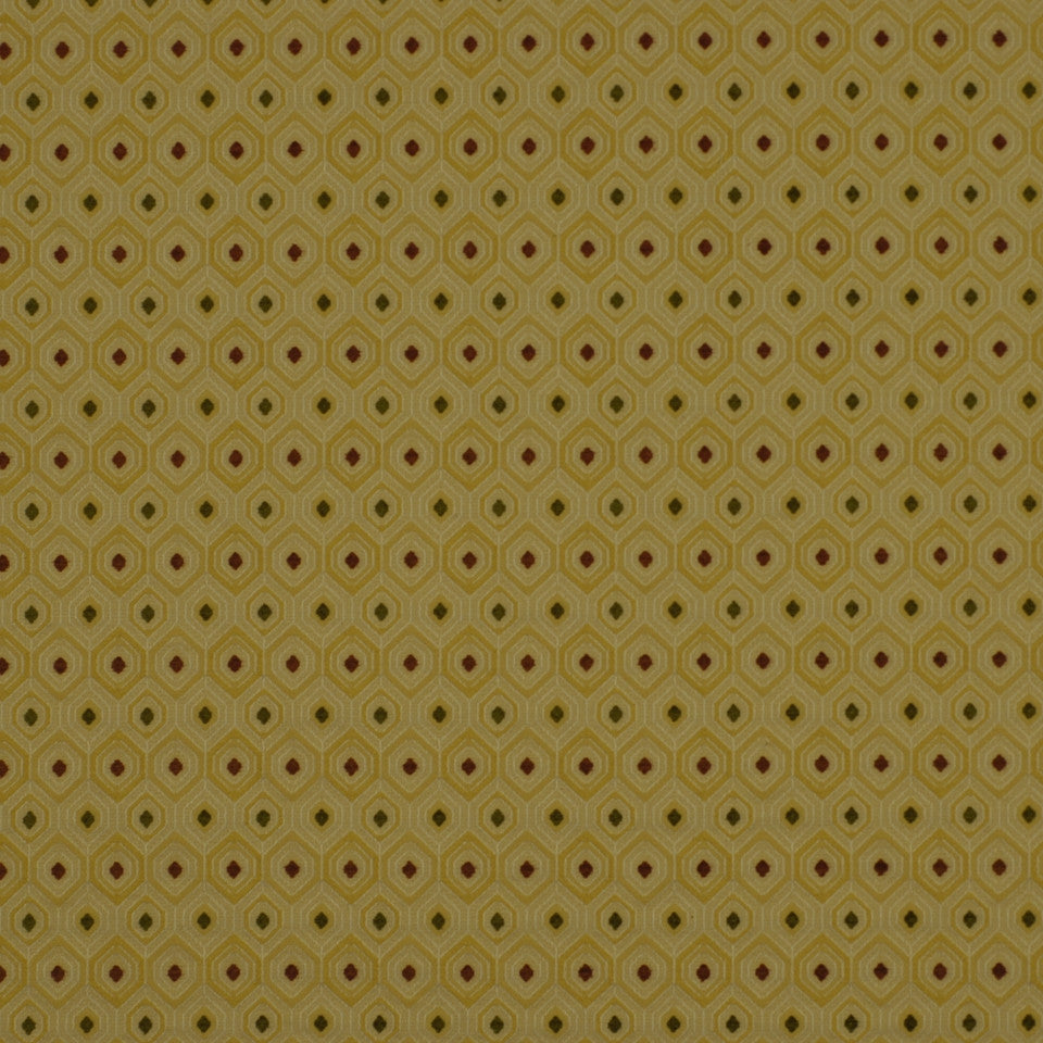 HONEYSUCKLE Basic Dots Fabric - Honeysuckle