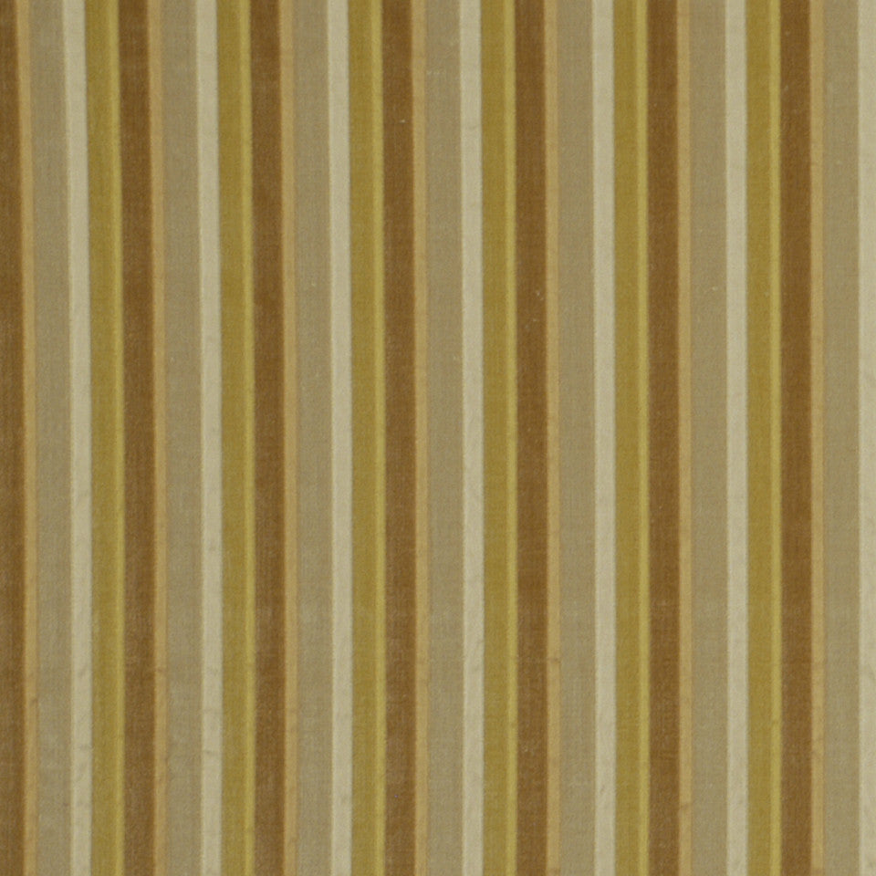 GARDEN Couture Stripe Fabric - Yellow Lotus