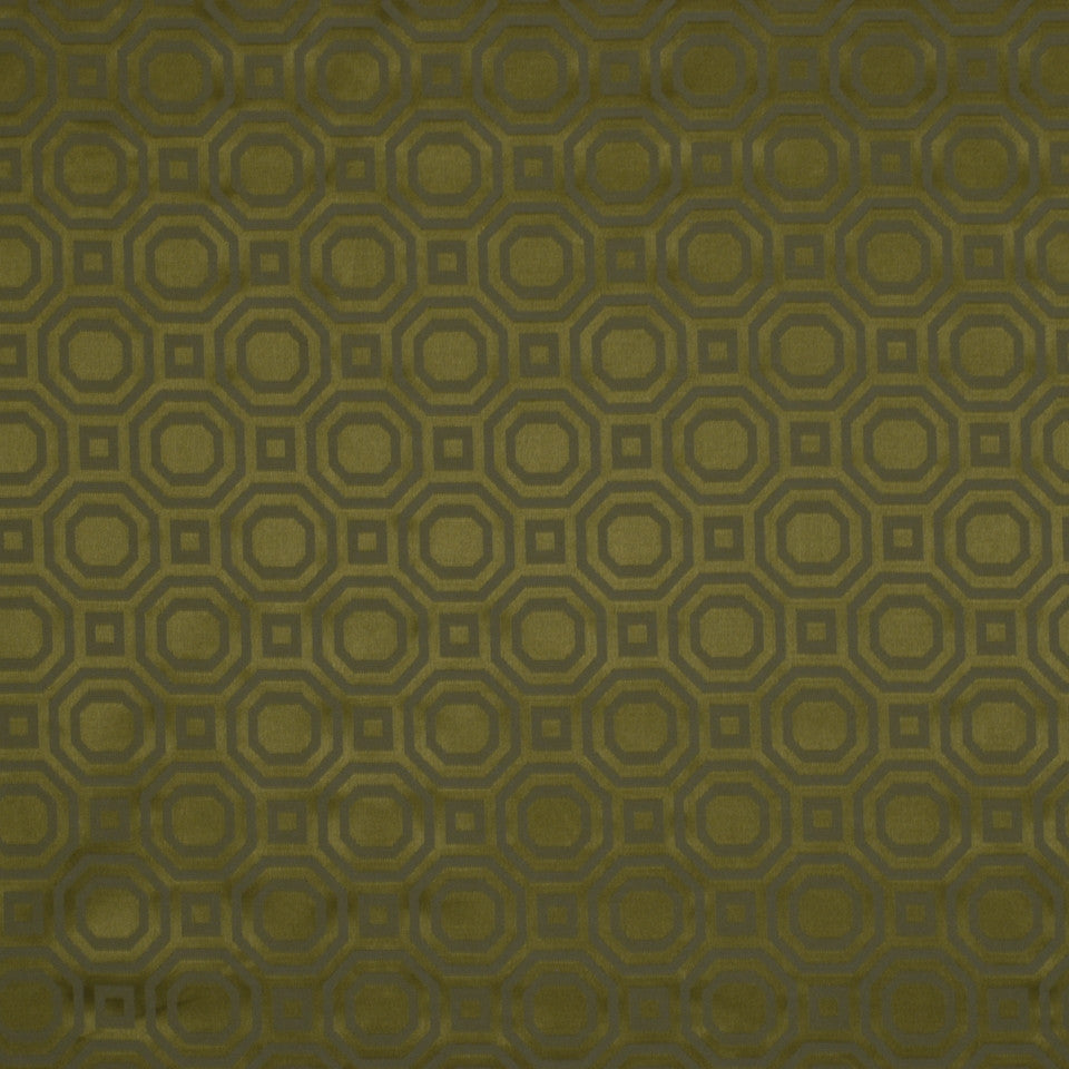 SURF-SAND-DUSK Octagons Fabric - Patina