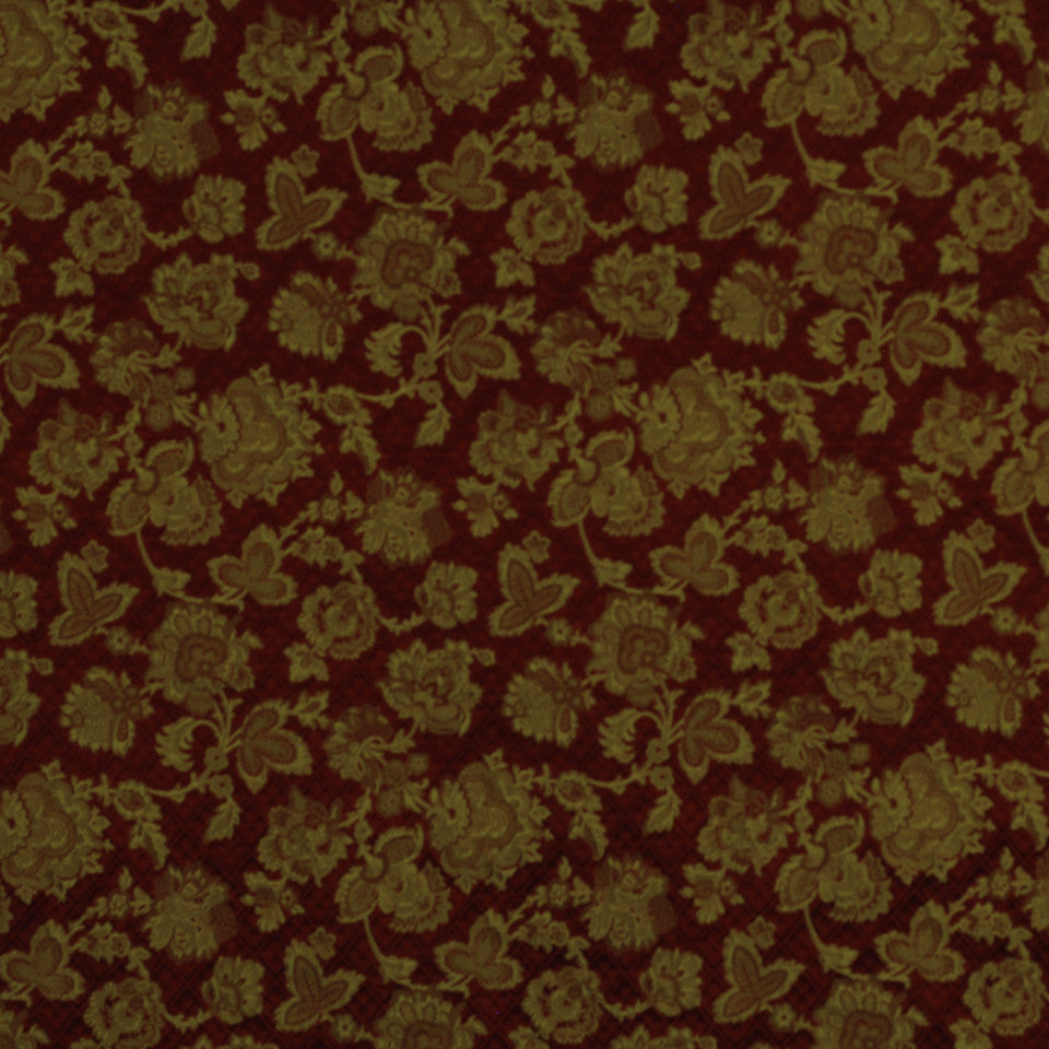 JEWEL Mademoiselle Fabric - Ruby