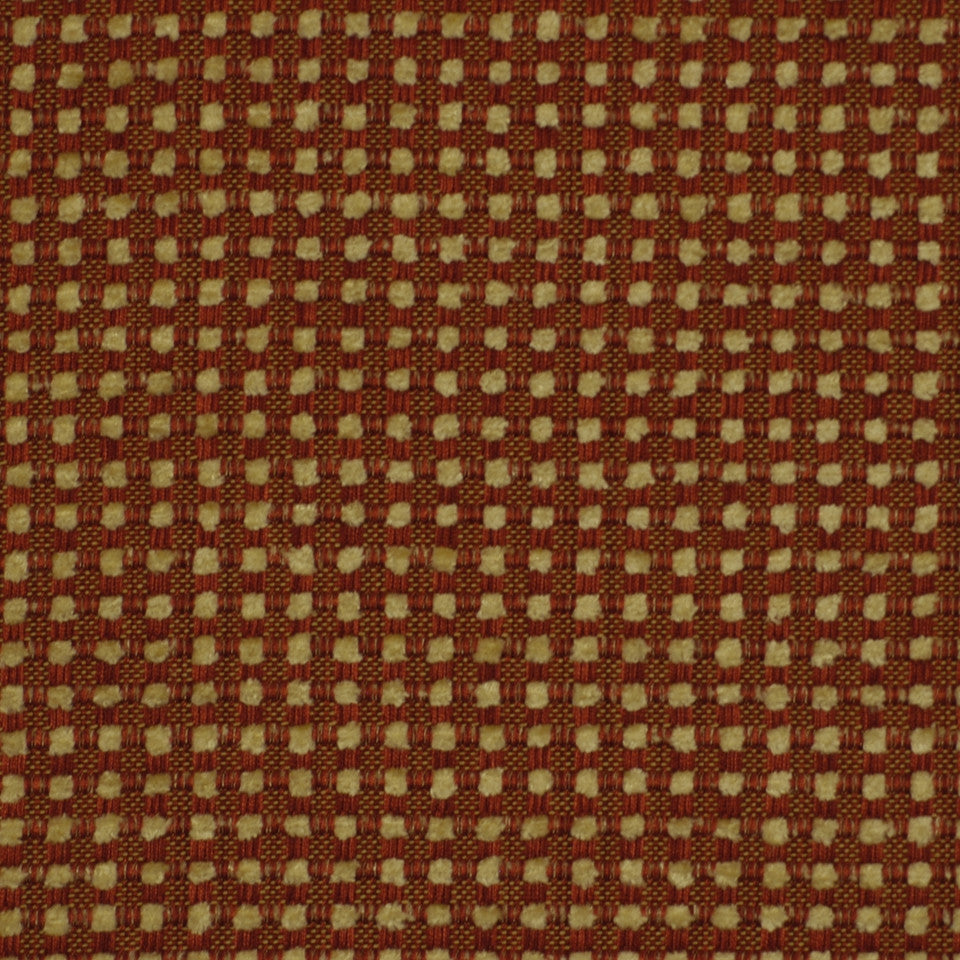 POPPY Weave Works Fabric - Poppy