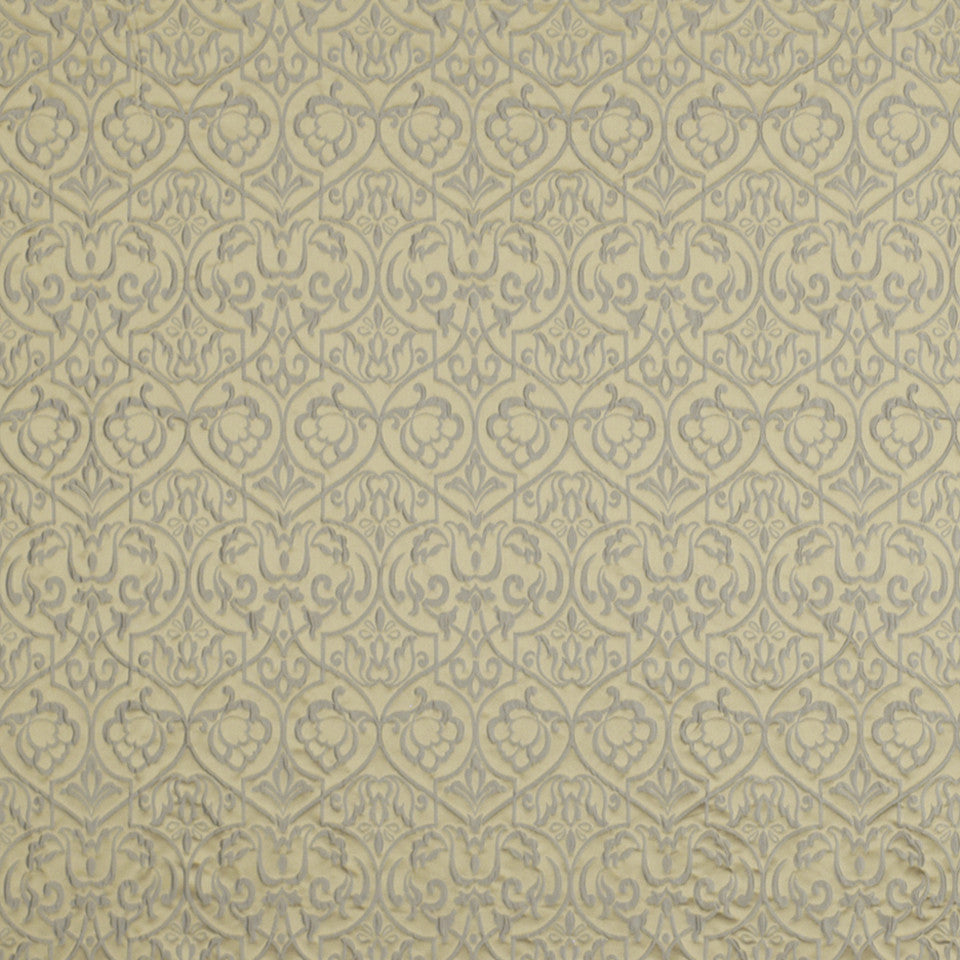 FOUNTAIN Winter Palace Fabric - Dove Blue