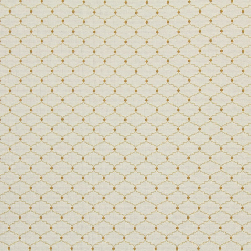 SUNRAY Contorted Fabric - Honeysuckle