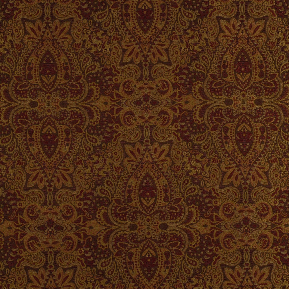 SPICE-HAYSTACK-JAVA Floral Song Fabric - Frankincense