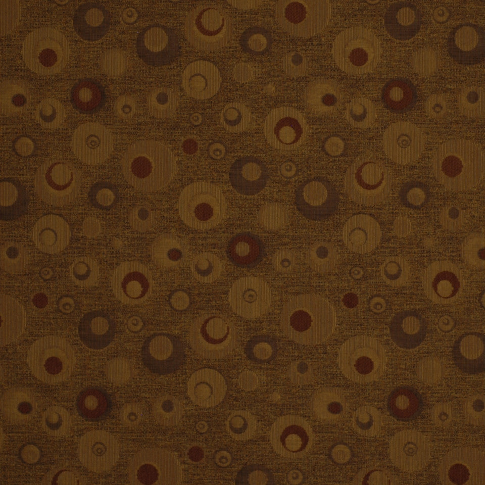 SPICE-HAYSTACK-JAVA Circles Around Fabric - Cedar