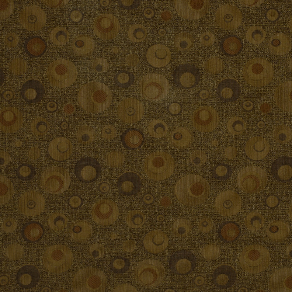 SPICE-HAYSTACK-JAVA Circles Around Fabric - Cappuccino