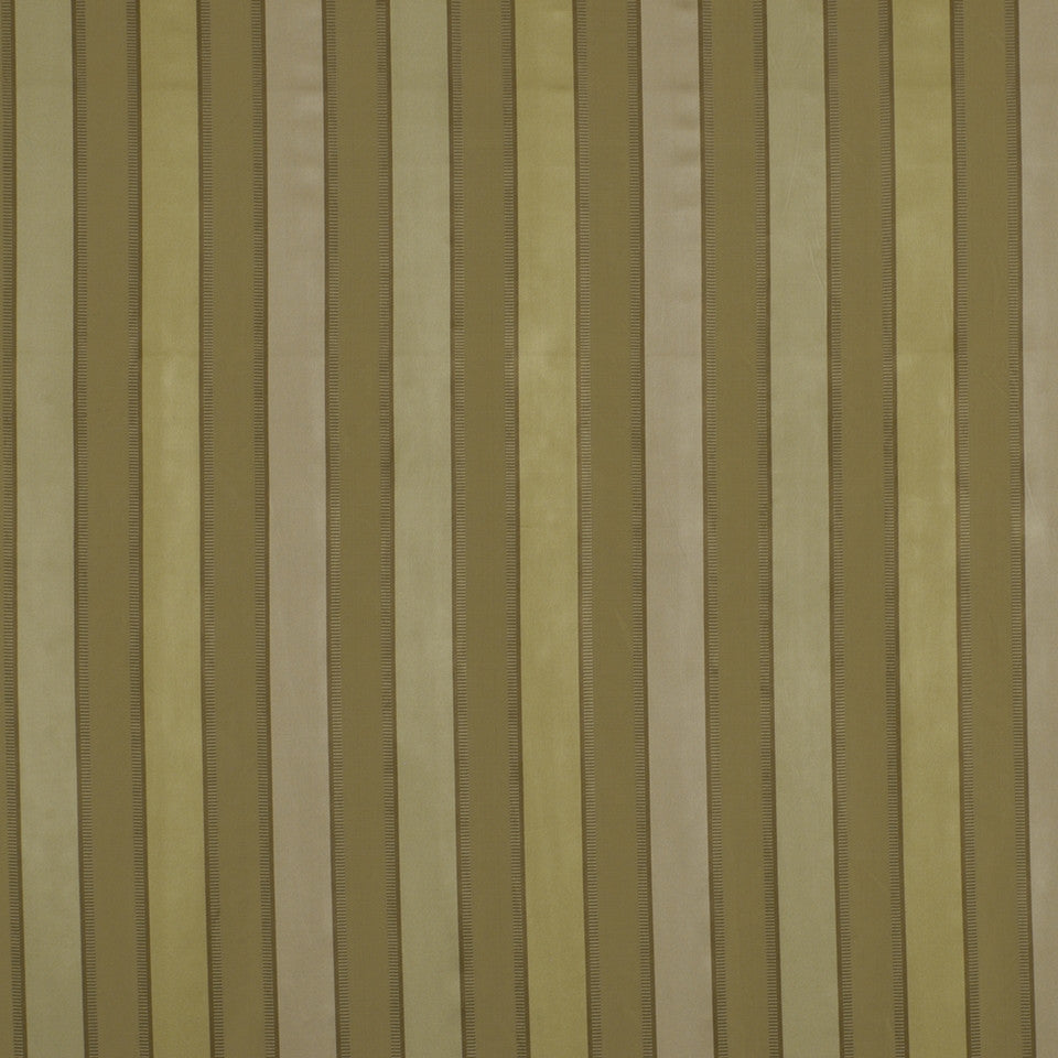 GRANITE Bourbon Stripe Fabric - Alabaster