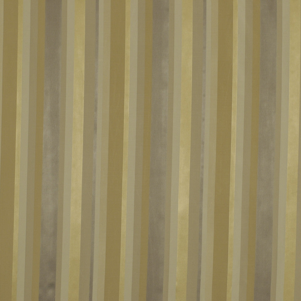 GRANITE Jou Jou Stripe Fabric - Pewter