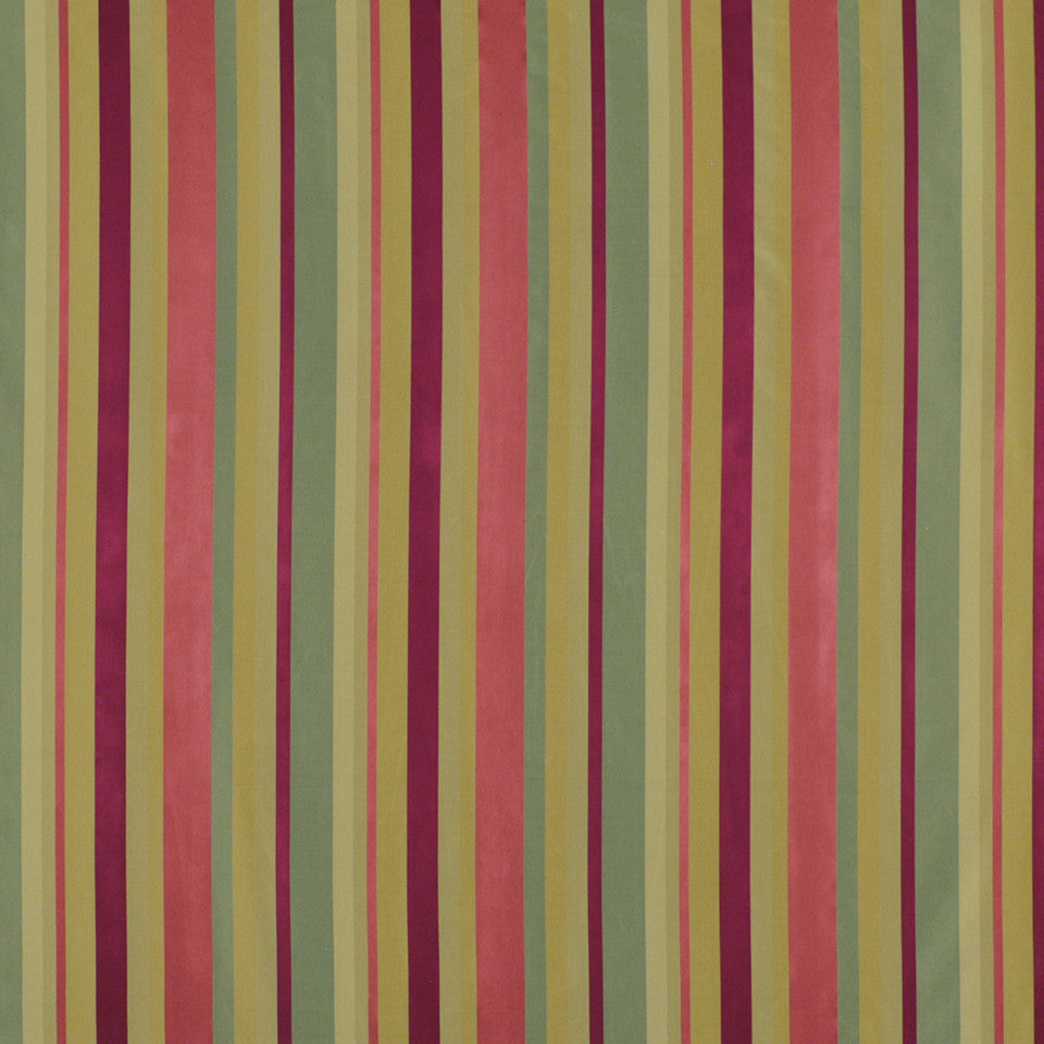 JEWEL Jou Jou Stripe Fabric - Ruby