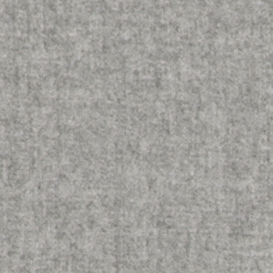 WOOL TEXTURES Wool Flannel Fabric - Ash