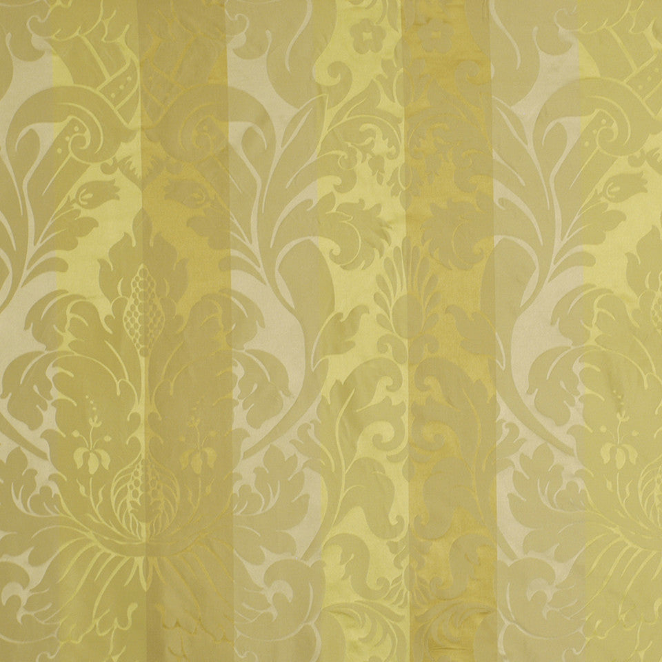 GARDEN Baroness Fabric - Yellow Lotus