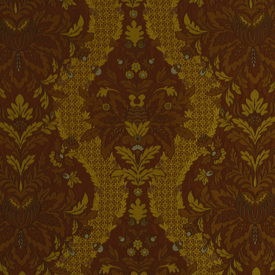 JEWEL Monsoon Garden Fabric - Garnet