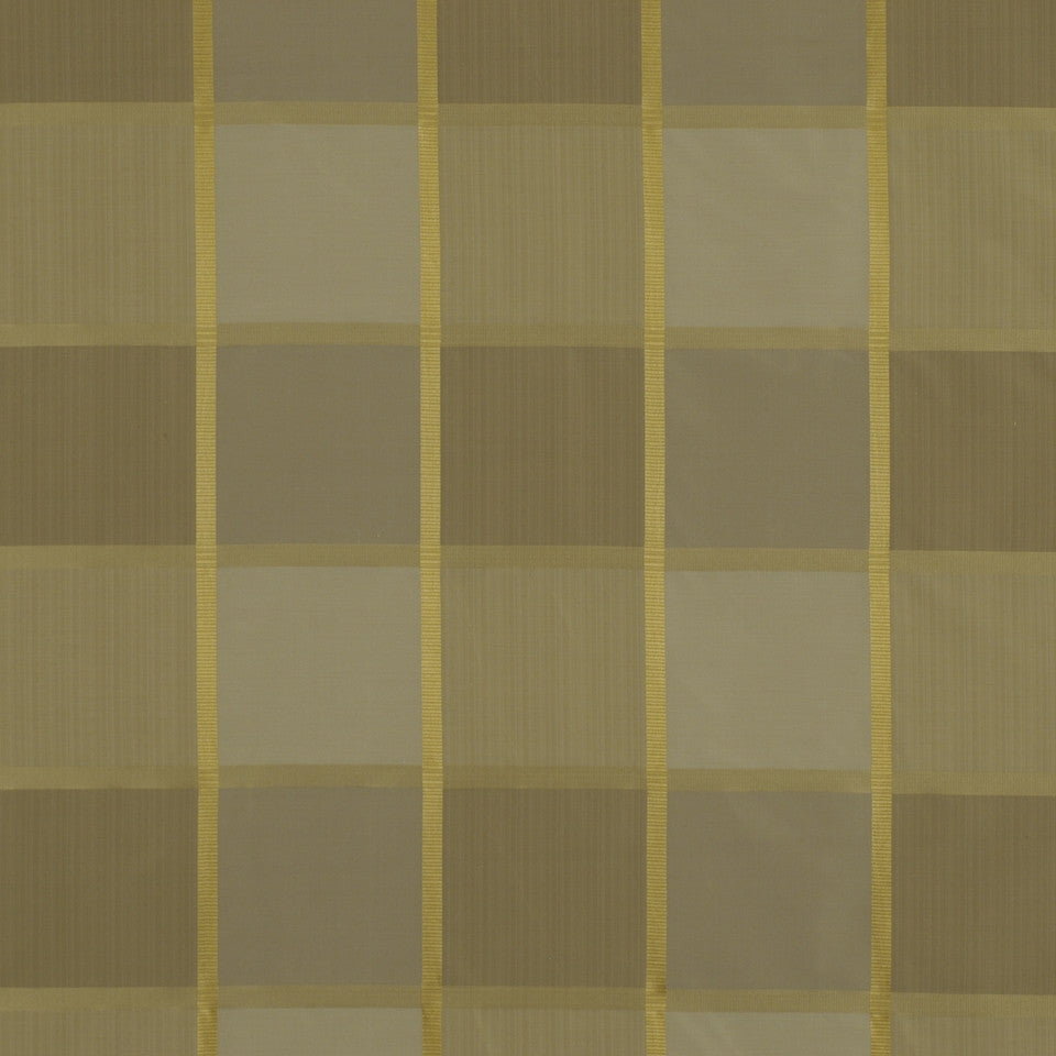 GRANITE Vien Check Fabric - Linen