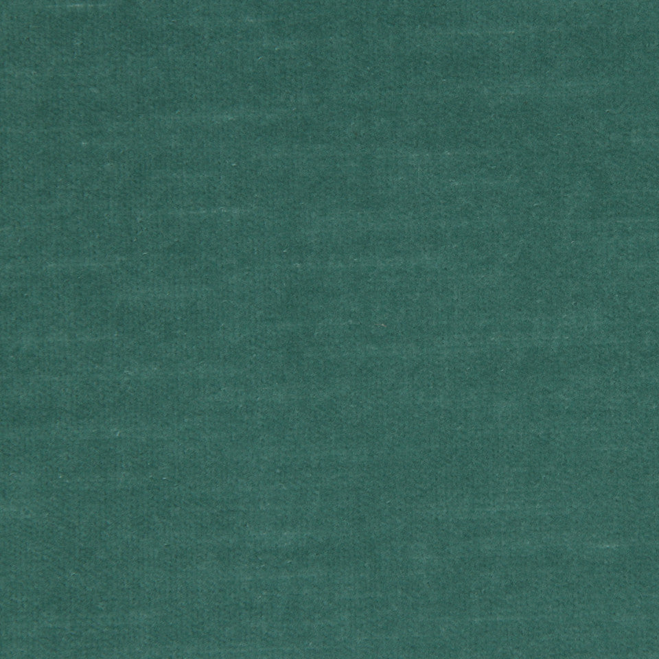 COTTON VELVETS Contentment Fabric - Caspian