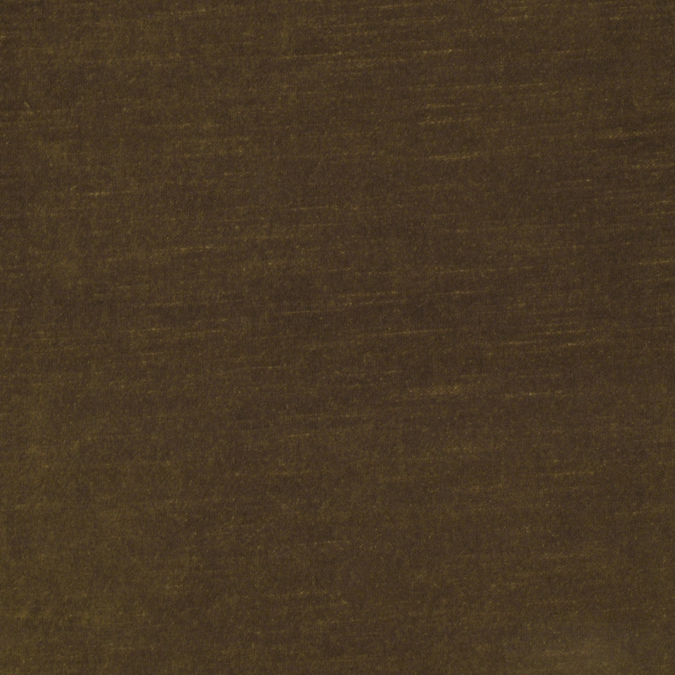 COTTON VELVETS Contentment Fabric - Bronze