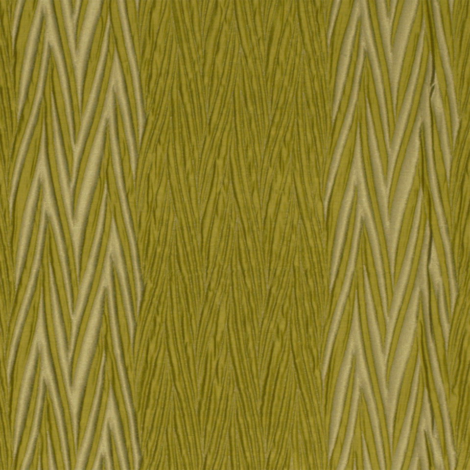 SILKY ESSENTIALS II Wrinkles Fabric - Leaf