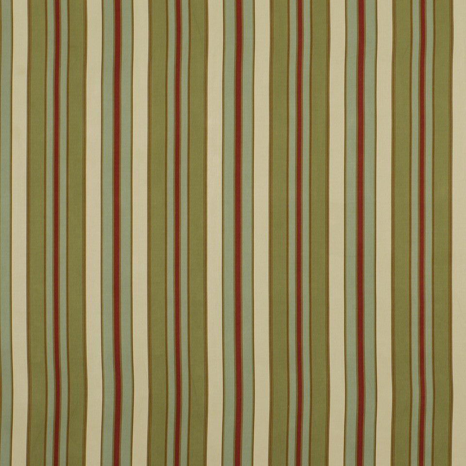 COVE Squam Stripe Fabric - Fern