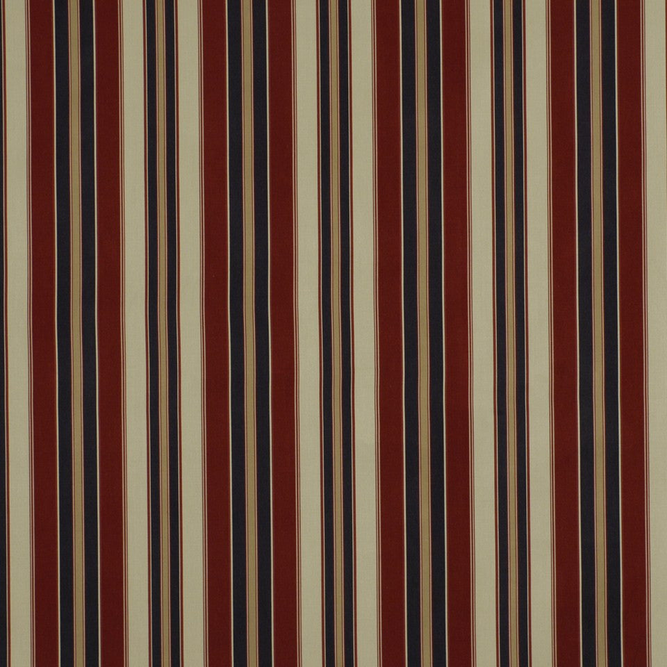COVE Squam Stripe Fabric - Indigo