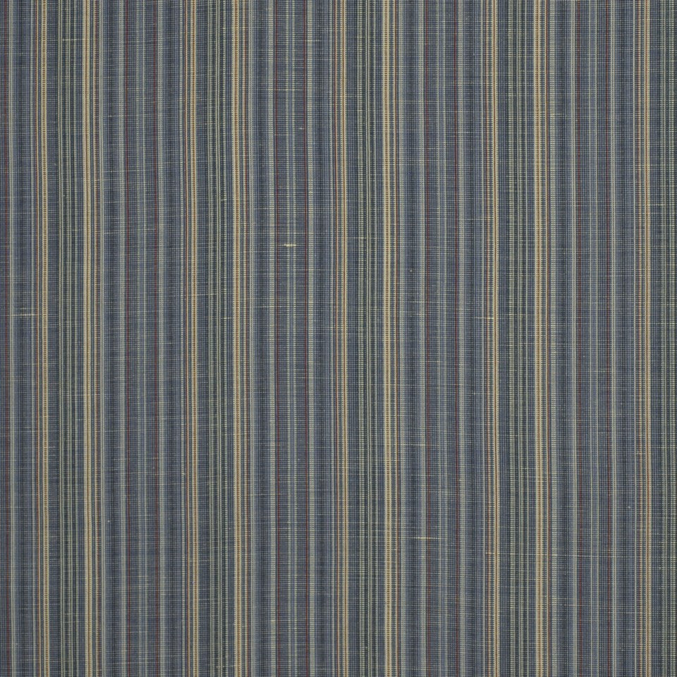 COVE Hancock Stripe Fabric - Indigo