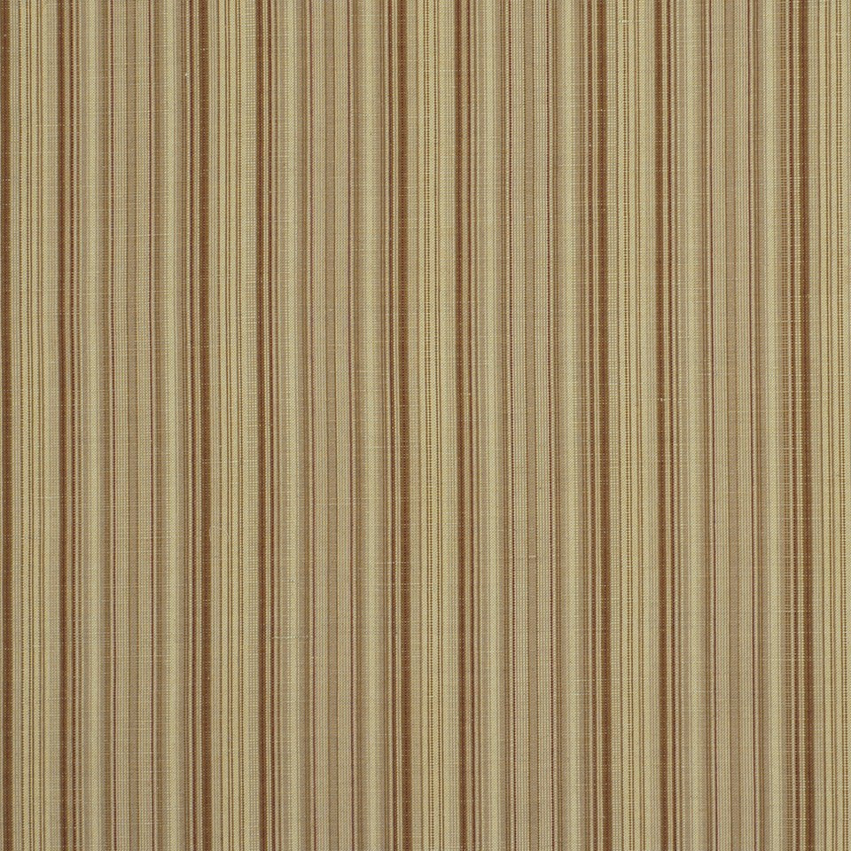 COVE Hancock Stripe Fabric - Teak